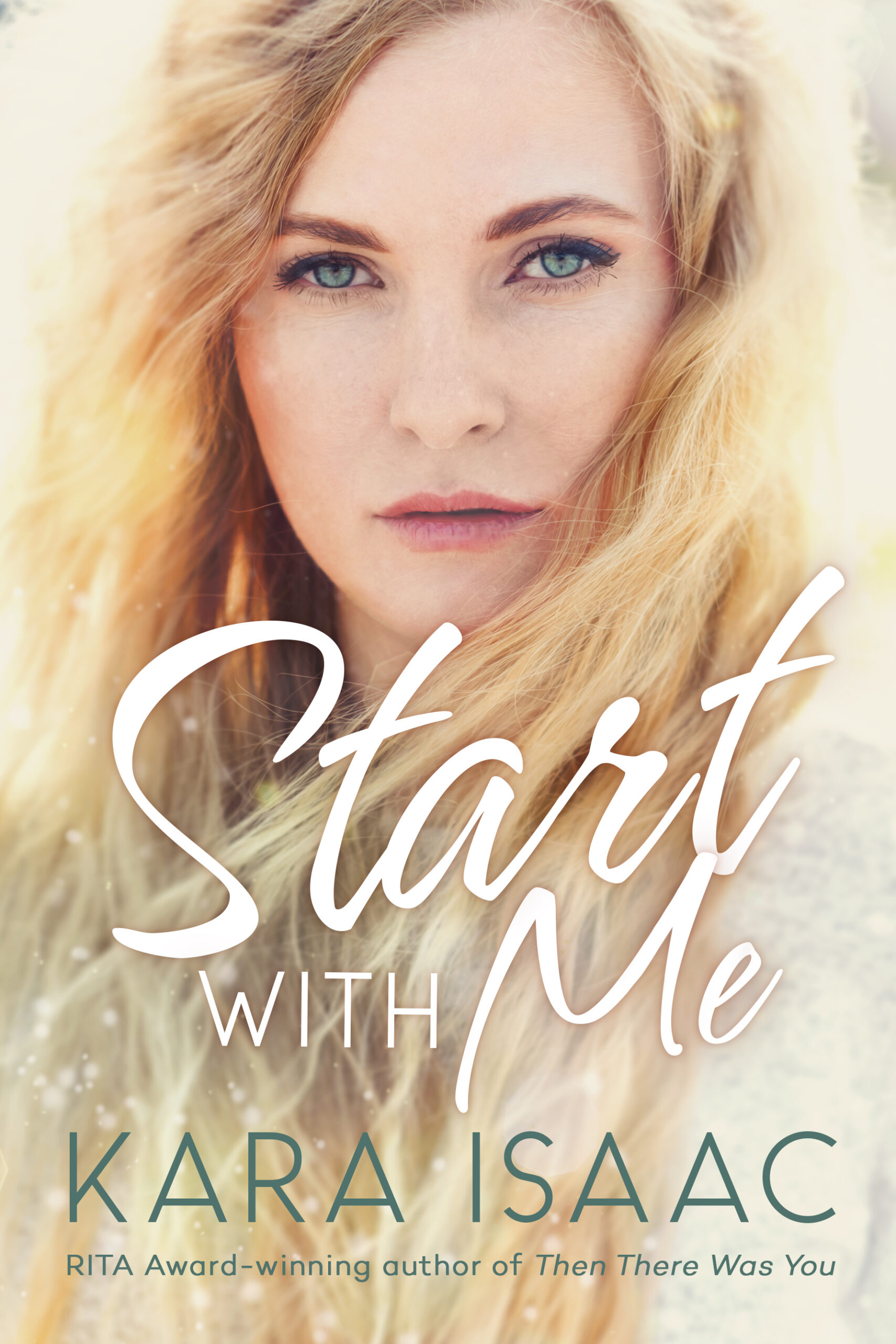 Start With Me book cover of a woman with blonde hair.